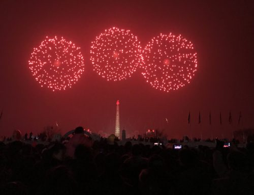 Fireworks in North Korea