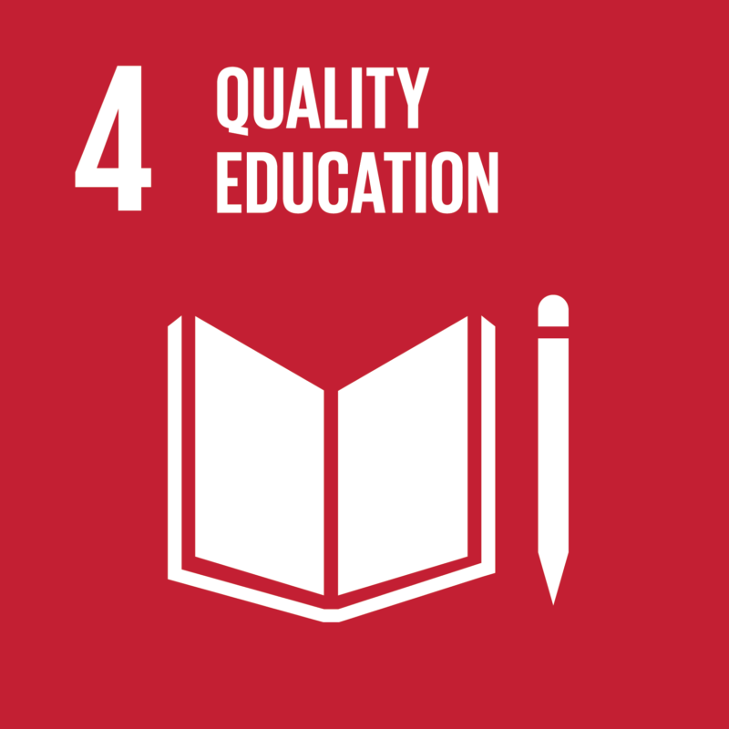 Goal number 4 quality education travel company responsibility