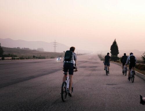 This is what biking in North Korea feels like