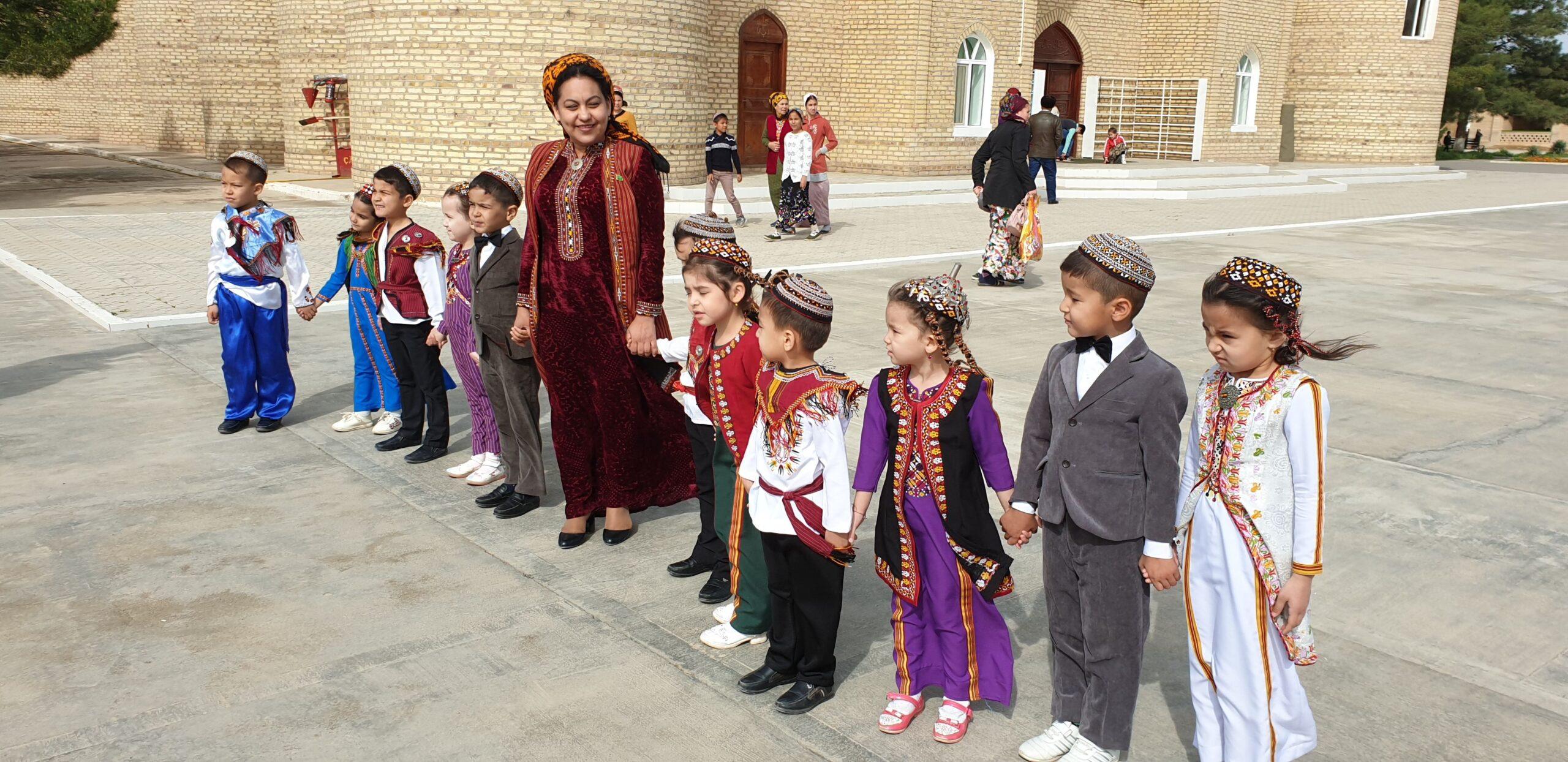 Fall tour to Turkmenistan