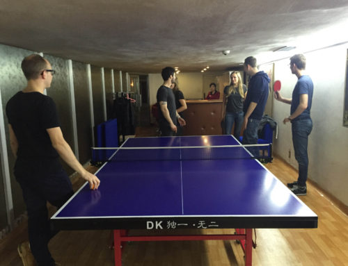 Can North Koreans play table tennis?
