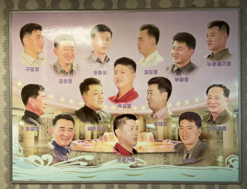 """Do you want a haircut as our Marshall Kim Jong Un?"""