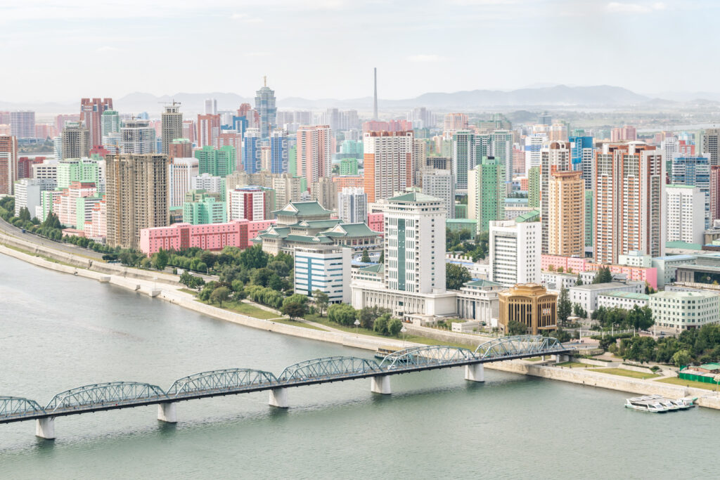 The capital of North Korea