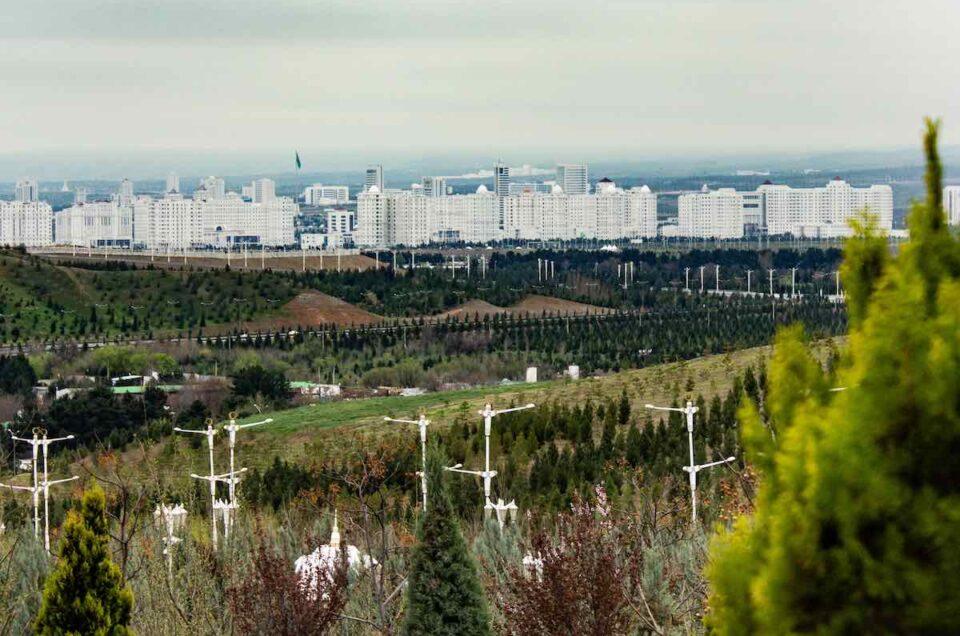 Ashgabat - The capital of Turkmenistan