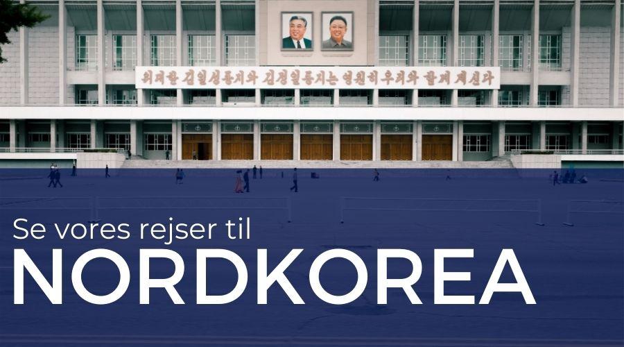 Rejser til Nordkorea